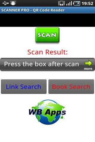 SCANNER PRO - QR Code Reader - screenshot