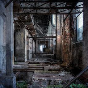 Coal Mine Building by Steve Struttmann - Buildings & Architecture Decaying & Abandoned ( steve, urban, spectres, struttmann, old urbex, decay empty, factory, mine, france, exploration )