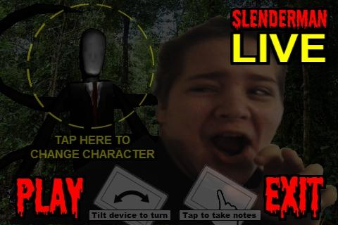 SlenderMan LIVE - screenshot