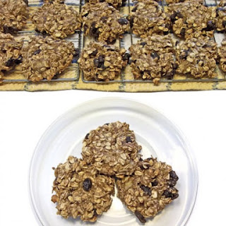 Oatmeal Apple Banana Raisin Cookies
