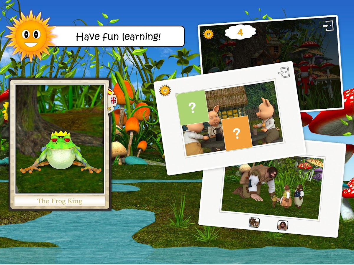 Fairy Tales & Legends for kids- screenshot