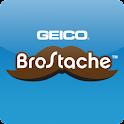 GEICO BroStache logo
