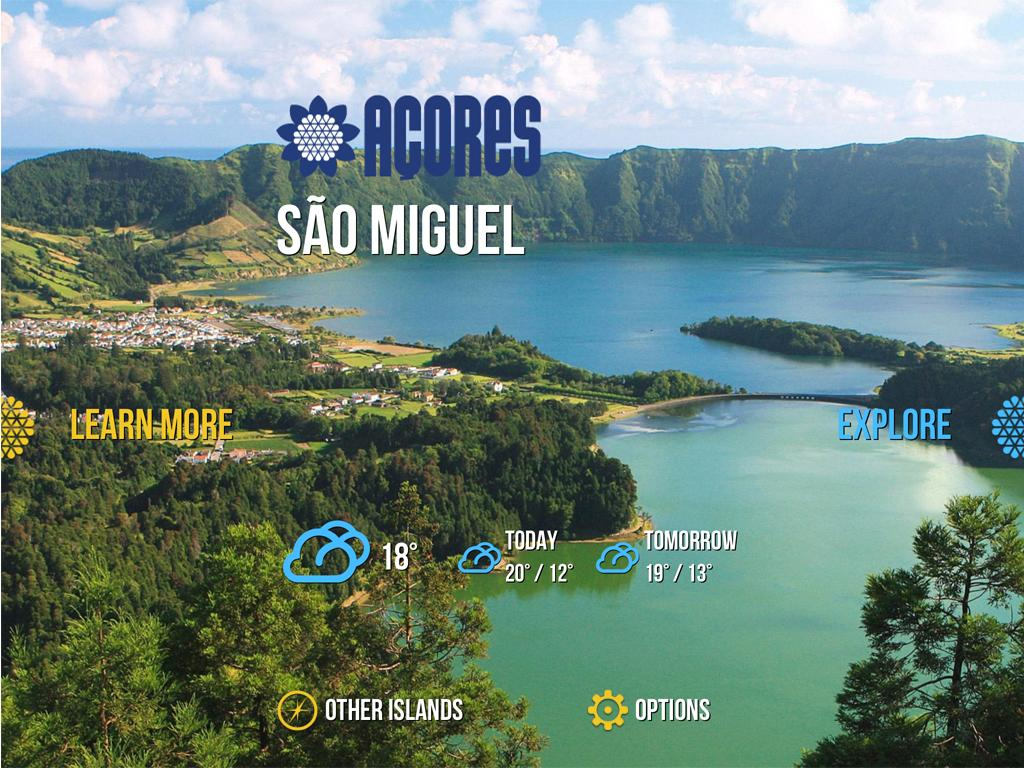 Visitazores - screenshot