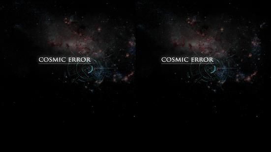COSMIC ERROR- screenshot thumbnail
