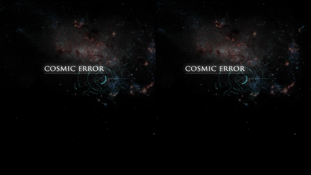COSMIC ERROR- screenshot