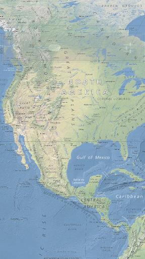 物理世界地图