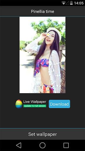 Sweet Girl Live Wallpaper