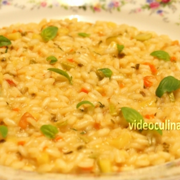 Risotto with Vegetables Recipe