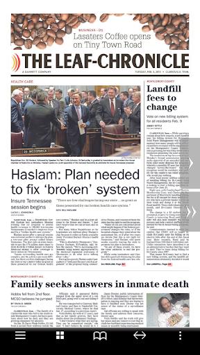 The Leaf-Chronicle Print