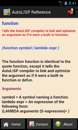 免費下載工具APP|AutoLISP Reference app開箱文|APP開箱王