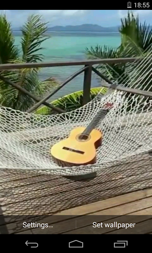 Relax on the beach Video LWP