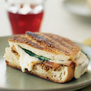 Turkey, Smoked Mozzarella and Arugula Panini