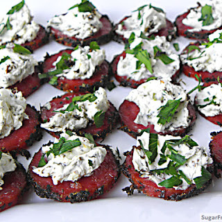 Baked Crisp Salami & Cheese {Carb-less} Appetizer.
