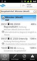 Screenshot of Fahrplan MS