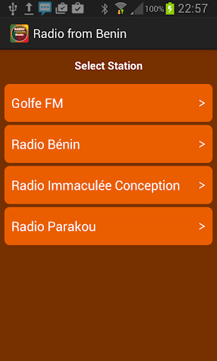 Radio from Benin