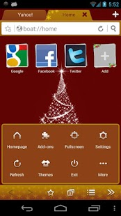 Christmas Boat Browser Theme- screenshot thumbnail
