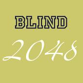 Blind 2048 (Free & No Ads)