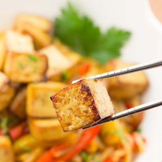Easy Marinated Baked Tofu