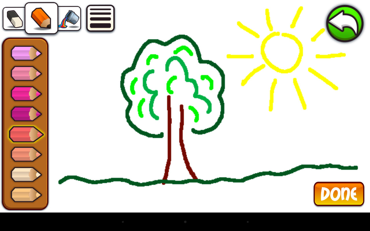 kids painting lite screenshot - Pictures To Paint For Children