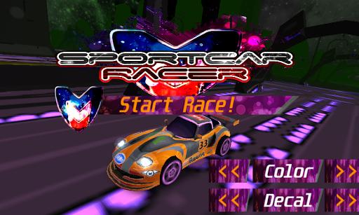 Speedy 3D Sport Car Racer
