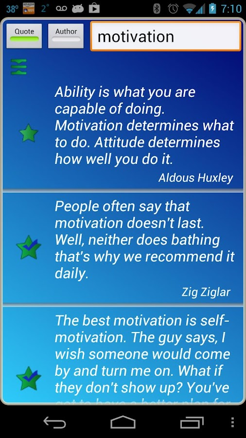 Motivational Quotes - screenshot
