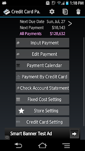 Credit Card Payment Checker- screenshot thumbnail