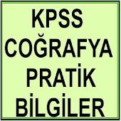 KPSS Pratik Coğrafya Bilgileri