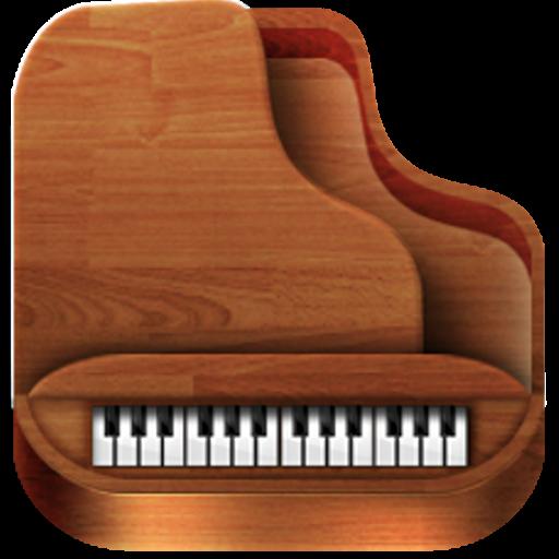 音乐のピアノの楽譜 LOGO-記事Game