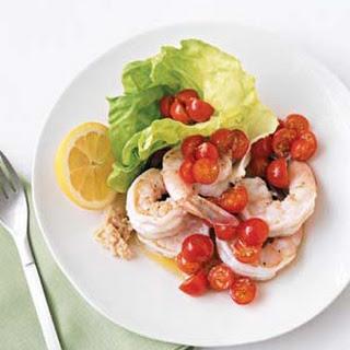 Shrimp With Tomato-Horseradish Salsa