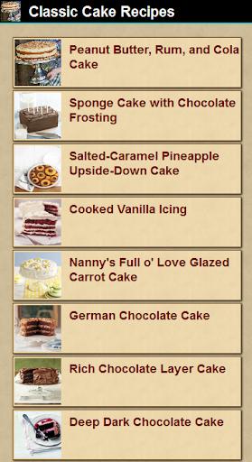 Classic Cake Recipes 1