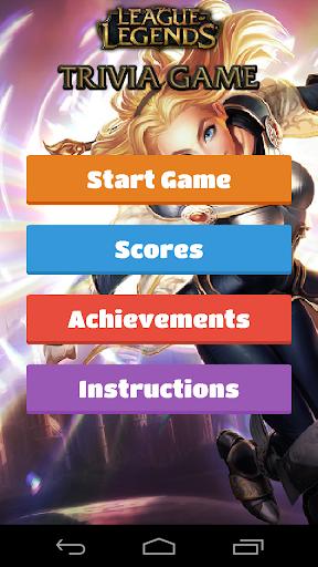 League Of Legends Trivia Game
