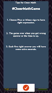 Cheer Math Game - screenshot thumbnail