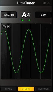 UltraTuner - Chromatic Tuner Screenshot