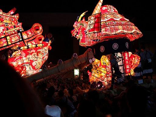 砺波夜高祭り