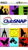 Screenshot of ClubSNAP Photography Community