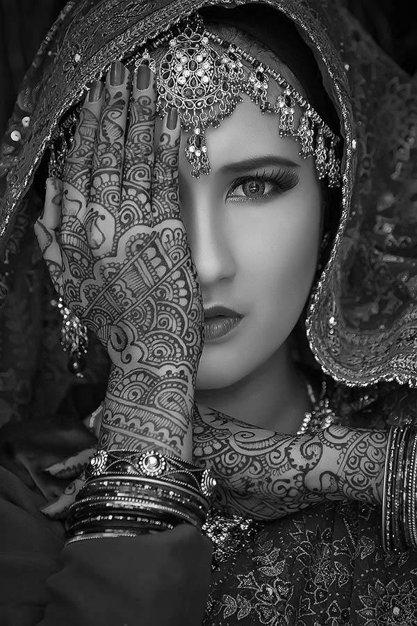 ::BW:: by Gaaneet Smaart - Black & White Portraits & People ( fasion, girl, woman, pretty, eyes )