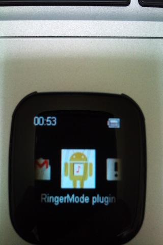 RingerMode plugin - screenshot