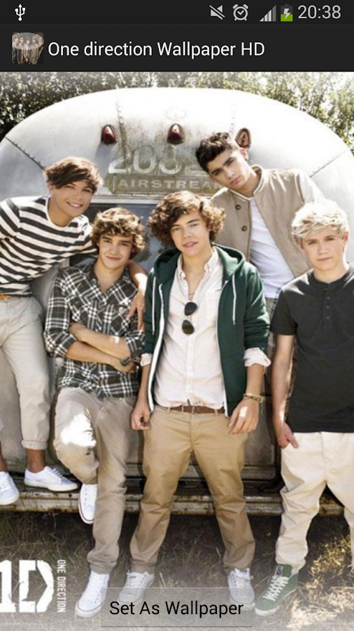 One direction wallpaper HD - screenshot