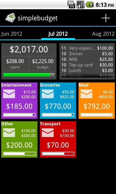 simplebudget envelope budget apk