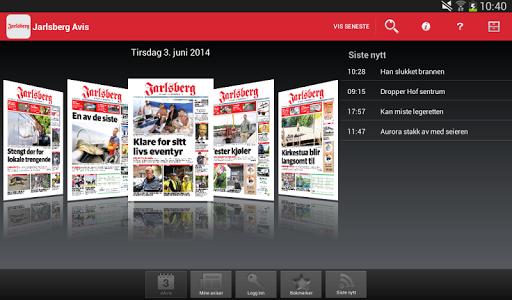 玩新聞App|Jarlsberg Avis Digital Utgave免費|APP試玩