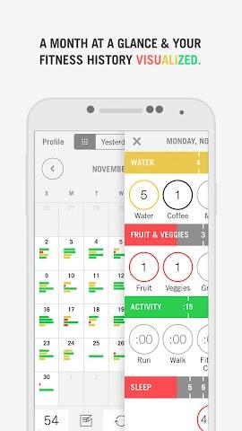 Screenshots for Nudge Health Snapshot