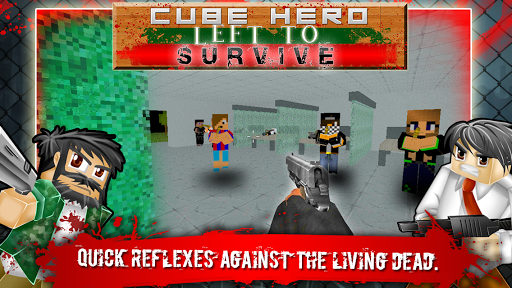 Cube Hero Left To Survive