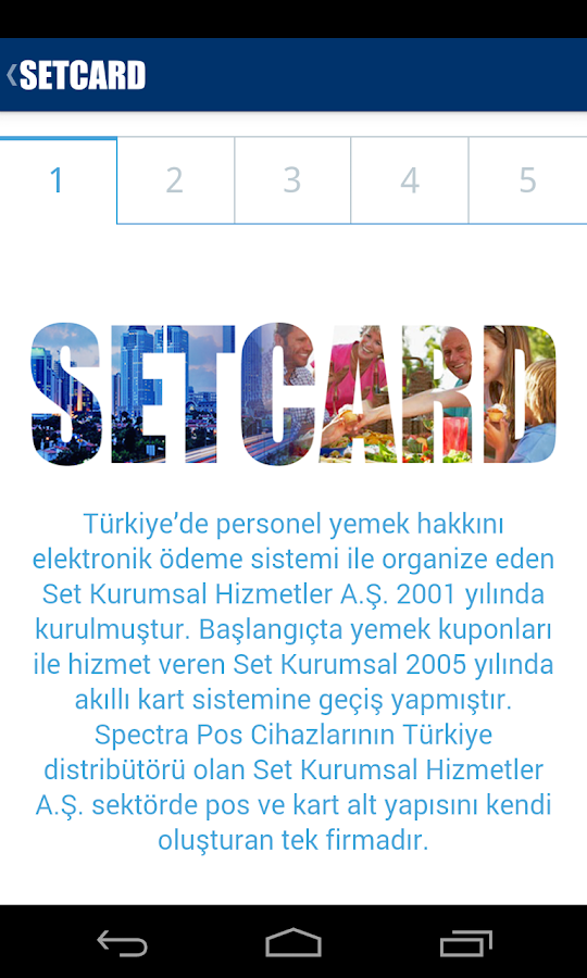 SETCARD Nerede- screenshot