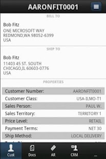 SalesPad Mobile - náhled