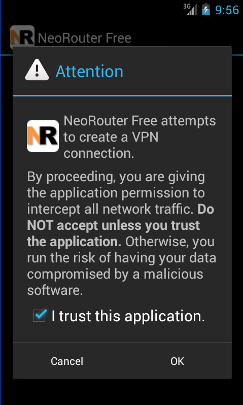 NeoRouter VPN Mesh - screenshot