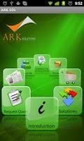 Screenshot of ARK Solutions