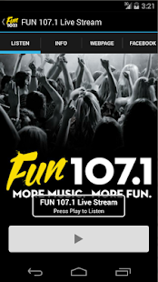 FUN 107.1- screenshot thumbnail