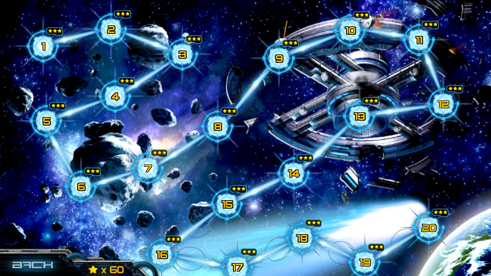 Cosmo Battles - screenshot