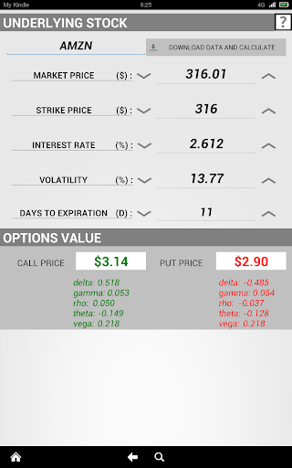 Options Calculator Pro