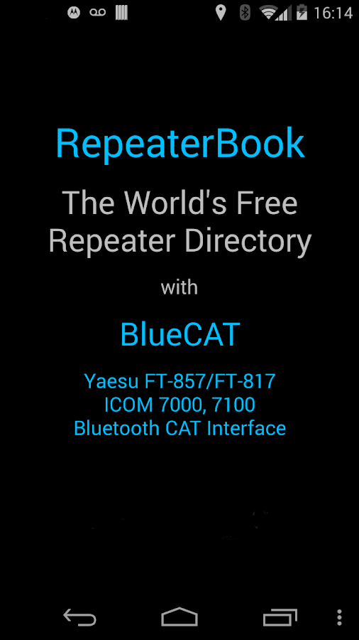 RepeaterBook - screenshot
